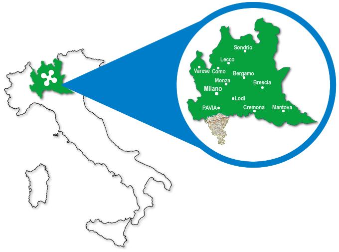 Cartina Lombardia Pavia.Turismo In Oltrepo Pavese