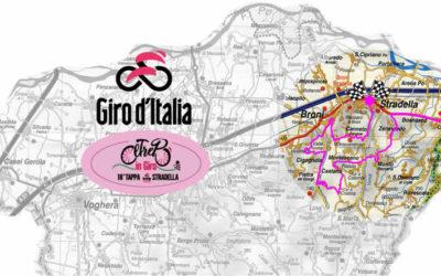 """Il Portale Oltrepo Pavese presenta """"Itinerario in Rosa"""", gli ultimi 40 km. della 18° Tappa del Giro d'Italia 2021 in Oltrepò Pavese diventano un itinerario"""