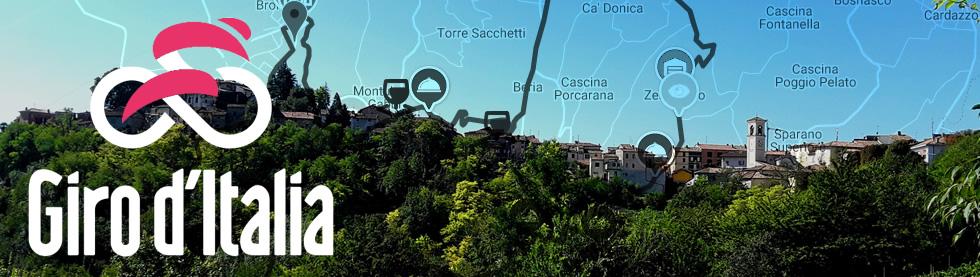 Una gita fuori porta in Oltrepò Pavese in occasione dell'arrivo della 18° Tappa del Giro d'Italia a Stradella