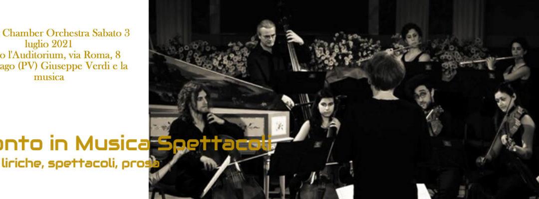 Mosaic Chamber Orchestra Sabato 3 luglio 2021 –  InCanto in Musica e Spettacoli