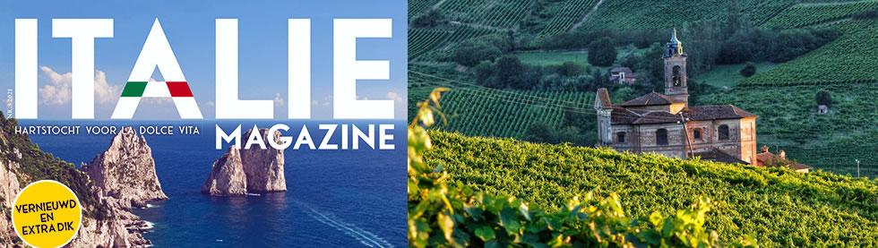 Press Tour del giornalista Alessandro Avalli per la rivista turistica olandese ITALIE MAGAZINE