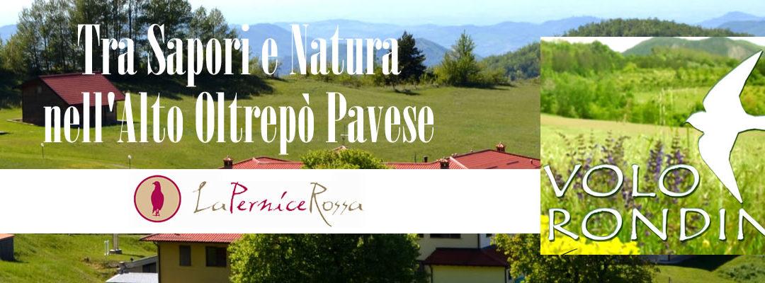 Tra SAPORI e NATURA nell'Alto Oltrepò Pavese – Domenica 19 settembre alla Pernice Rossa di Menconico