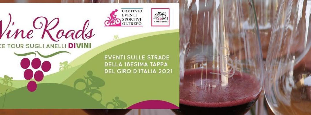 """Sabato 7 agosto – """"Wine Roads"""", cinque e-bike tour sugli """"Anelli DiVini"""" a Montù Beccaria"""