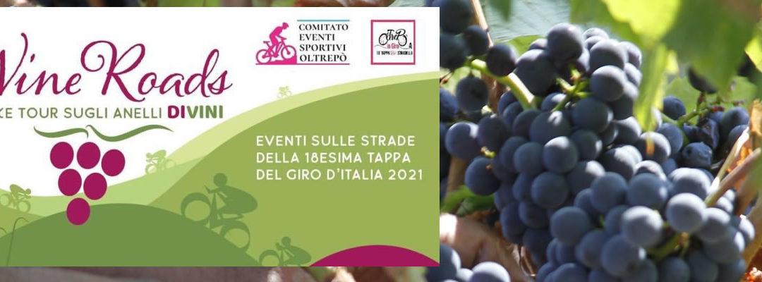 """Sabato 21 agosto – """"Wine Roads"""", cinque e-bike tour sugli """"Anelli DiVini"""" a Montescano"""