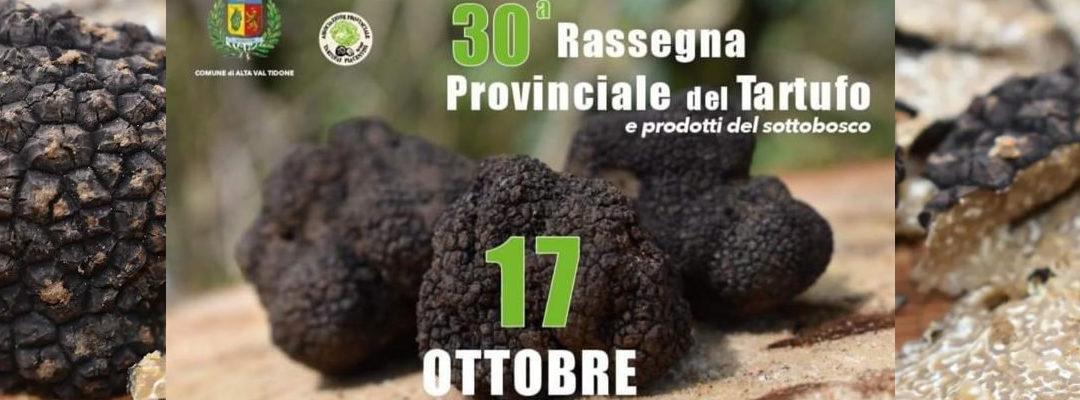 Domenica 17 ottobre, a Pecorara, 30° Rassegna Provinciale del Tartufo e dei prodotti del sottobosco.